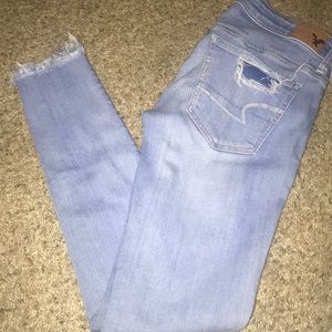 American Eagle super stretch skinny's